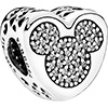 PANDORA Disney Mickey and Minnie True Love Charm (NEW)