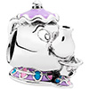 PANDORA Disney Mrs Potts and Chip Charm (NEW)