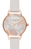 Olivia Burton Abstract Florals Blush & Rose Gold Watch