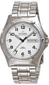 Olympic Mens Work Watch White Dial with Numbers (NEW)
