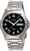 Olympic Mens Work Watch Black Dial with Numbers (NEW)