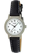 Olympic Ladies Titanium dress watch, leather strap