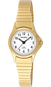Olympic Ladies Gold Plated Case & Expanding Bracelet