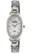 Olympic Ladies Stainless Steel Watch Mother Of Pearl Dial