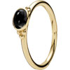 (RETIRED) PANDORA 14ct Gold Ring with Onyx