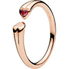 PANDORA Rose Two Hearts Ring (NEW)