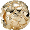 (RETIRED) PANDORA 14ct Gold Bead Jigsaw of Hearts