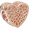 PANDORA Rose Filled With Romance Openwork Charm (NEW)