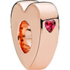 PANDORA Rose Two Hearts Spacer (NEW)
