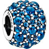 PANDORA Vivid Blue Shimmering Droplets Charm
