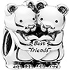 PANDORA Teddies Best Friends Charm (NEW)